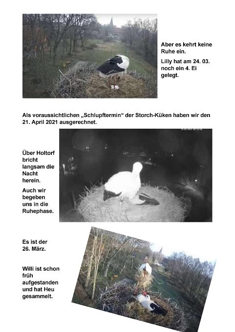 Seite 15 Storchentagebuch©Heimatverein Holtorf